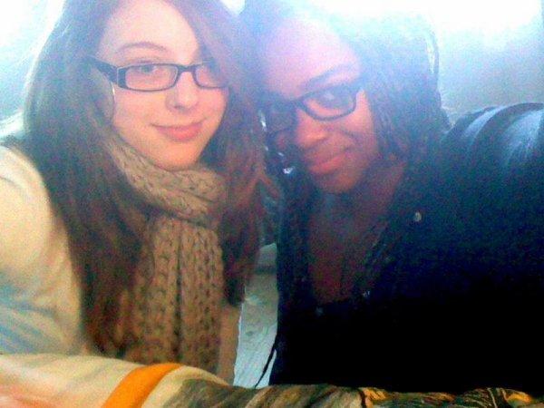 Gwladys et moi <3