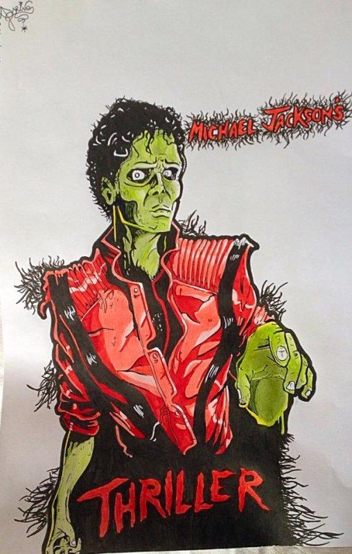 'Cause this is thriller!!!! Thriller night....