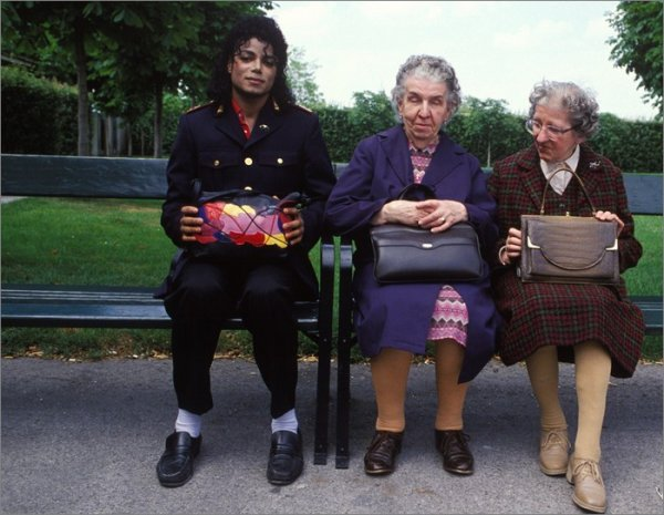 Michael et les mamies...
