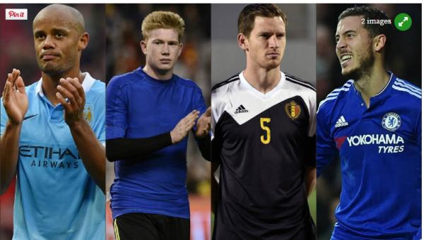 Kompany, De Bruyne, Vertonghen et sans doute Eden Hazard forfaits pour le Portugal