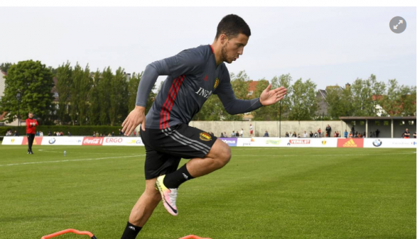 """Hazard rêve d'être une """"Euro-star"""" pour oublier Chelsea"""