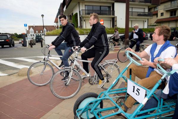 Balade en Vélo de nos Diables à Knokke
