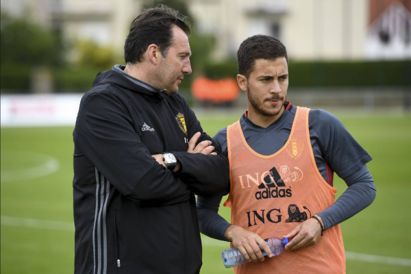 "Interview exclusive de Marc Wilmots: ""La défense va devoir se trouver"""