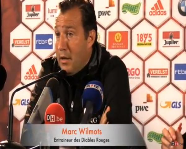 """Wilmots insiste : """"La défense tient la route malgré les blessures"""""""