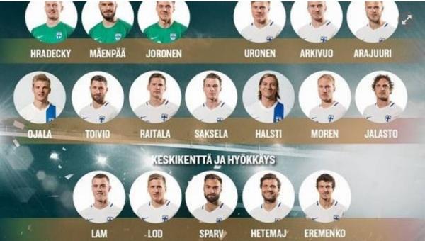 Deux Belgicains dans la sélection finlandaise qui affrontera la Belgique
