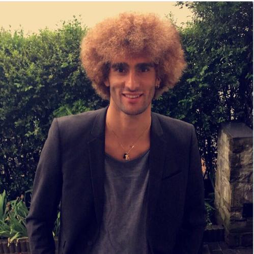 Marouane Fellaini sera ... Blondie Felli à l'Euro !