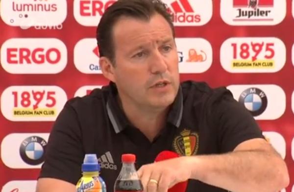 """Marc Wilmots: """"La situation de Nicolas Lombaerts est très claire"""""""