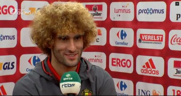 "Marouane Fellaini: ""Lundi, il faudra jouer avec des... cojones"""
