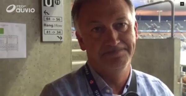 """Marc Degryse : """"On doit arriver au moins en ½ finale !"""""""
