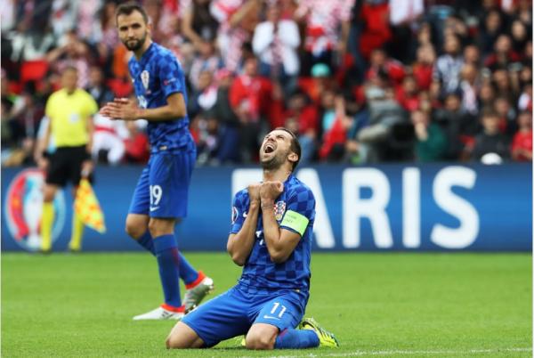 """Luka Modric élu """"homme du match"""" à l'issue de la victoire des Croates sur la Turquie"""