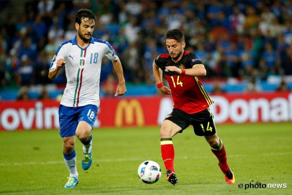 Belgique - Italie 0-2 : Euro 2016 - Phase de Groupe - Groupe E - Journée 1 (Lundi 13 juin 2016)
