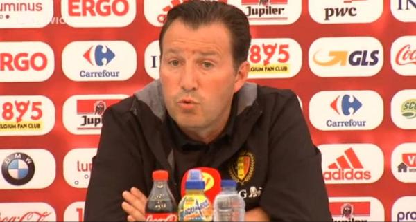 """Wilmots fait son mea culpa: """"Le choix de titulariser Fellaini est discutable"""""""