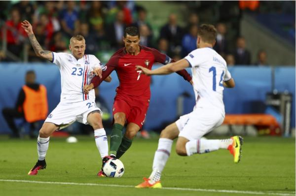 Le Portugal est tenu en échec par une solide équipe islandaise