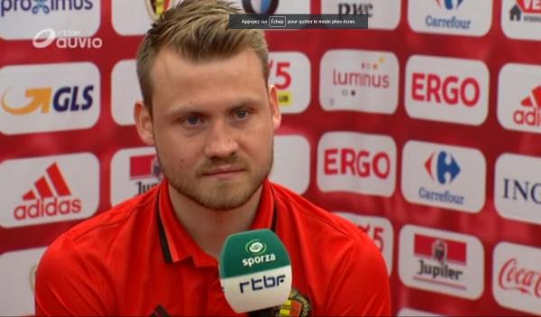 """Mignolet: """"Je sais comment joue l'Irlande d'O'Neill"""""""