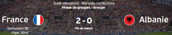 Griezmann et Payet libèrent les Bleus qui se qualifient pour les 1/8èmes
