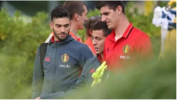 Entrainement du jour à huit clos: Hazard et De Bruyne de retour avec le groupe