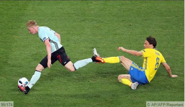 Suède - Belgique 0-1 : Euro 2016 - Phase de groupe - Groupe E - Journée 3 (Mercredi 22 juin 2016)