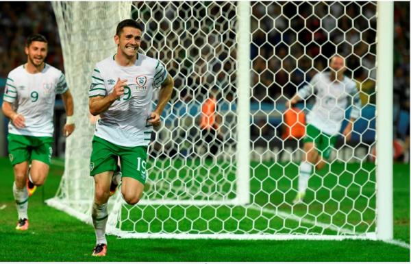 L'Irlande vient à bout de l'Italie  et vas en 1/8ème