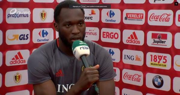 """Lukaku: """"Je ne me mets pas de pression, mais je suis ambitieux"""""""