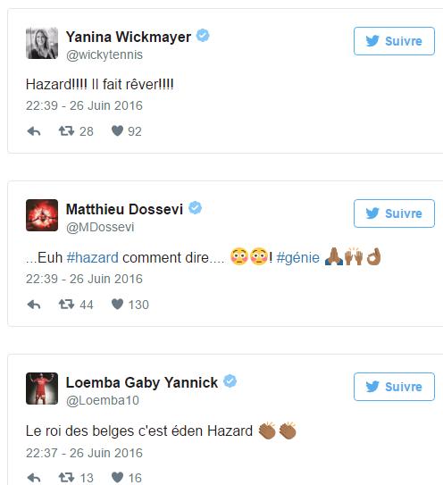 """Eden Hazard, le """"génie"""", affole la toile"""