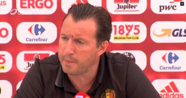 """Wilmots : """"Hazard a senti une contracture, il sera à 100% à la veille du match"""""""