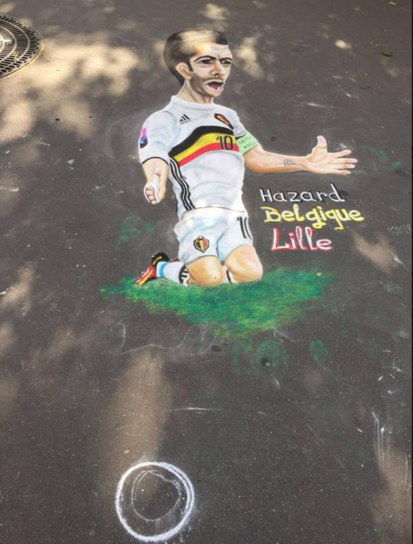 Après Lille, Paris attend Eden Hazard et la Belgique...