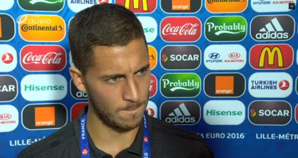 """Eden Hazard: """"J'ai réussi à m'entraîner sans douleur ce matin"""""""