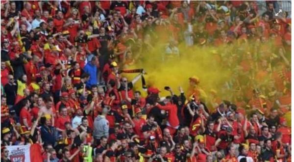 L'Union belge accepte l'amende de 5.000 euros de l'UEFA