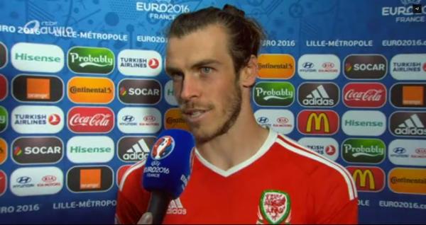 """Bale: """"On a montré qu'on était une belle équipe ce soir"""""""