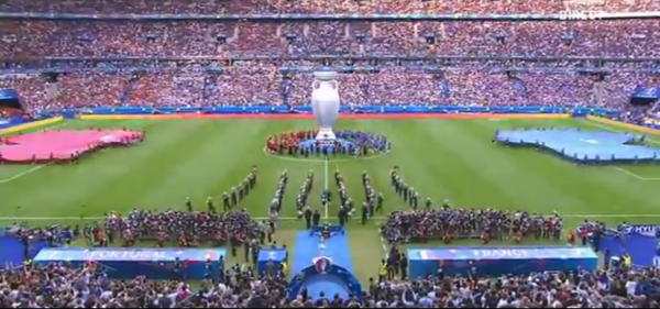 Euro 2016: Ceremonie de cloture