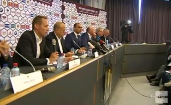 """Roberto Martinez : """"Un honneur d'entraîner la Belgique"""""""