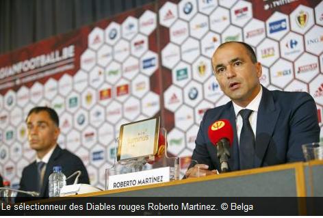 La première sélection de Roberto Martinez en vue du match amical contre l'Espagne (le 1er septembre à Bruxelles) et le match Eliminatoire pour le mondial 2018 contre Chypre (le 6 septembre à Nicosie)