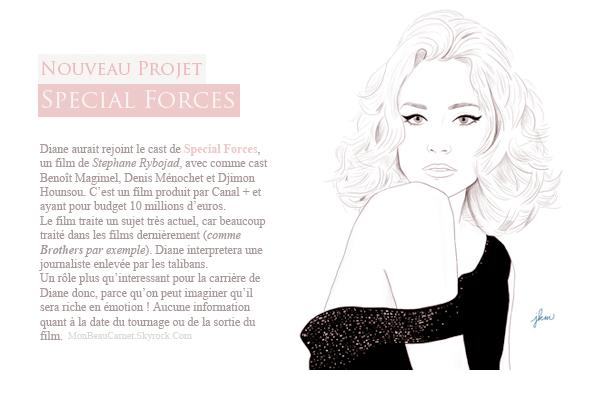 ♥ Diane Kruger // Special Forces ;)  MllePorcelain, Mon Autre Blog . . .