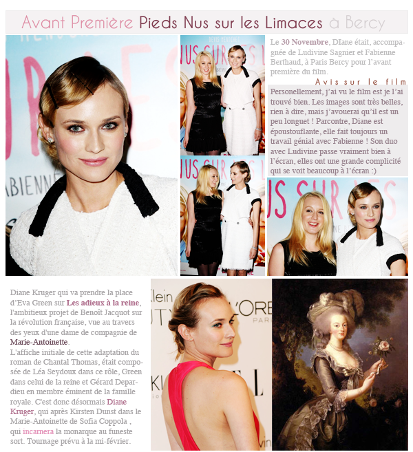 Diane Kruger & Daniel Bruhl♥ Rattrapage des News :)