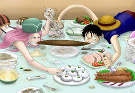 Luffy VS Bonney