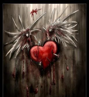 Le coeur meurtri de ton ame trahie