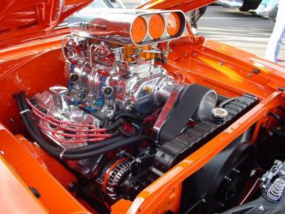 Moteur 426 Hemi Dodge Charger