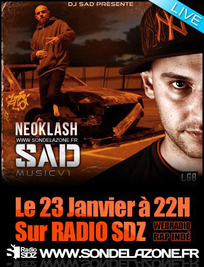 NEOKLASH sur la web radio SON DE LA ZONE