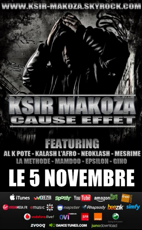 KSIR MAKOZA - Rap 2 Félé Feat NEOKLASH