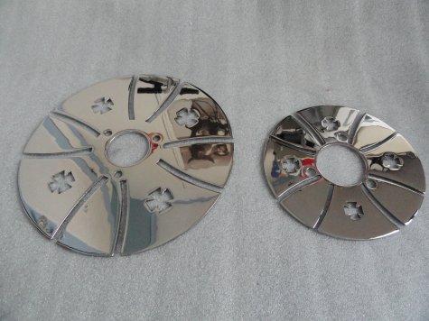 les 2 disques de frein