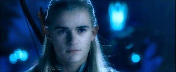 Legolas à caras galadhon, la cité elfique