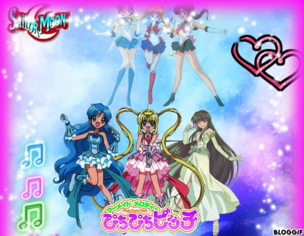mermaid melody avec un peu de sailor moon