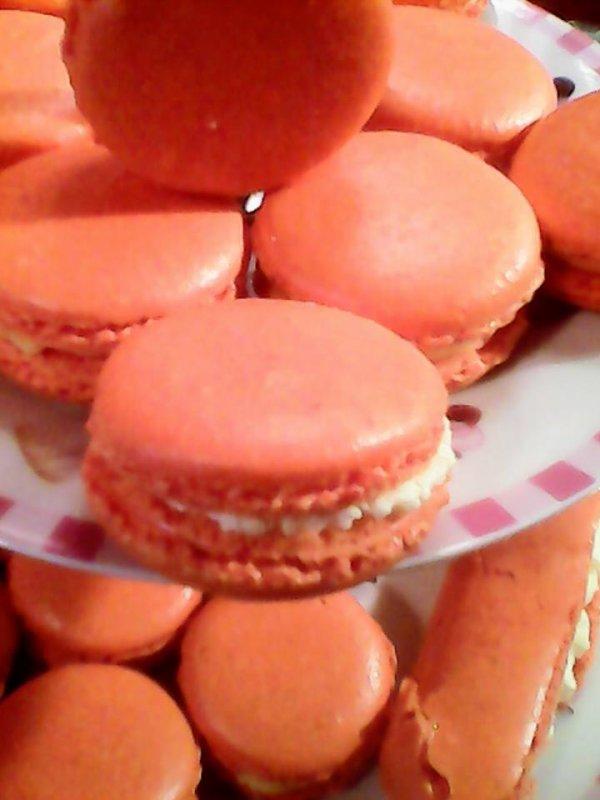 macarons clementine