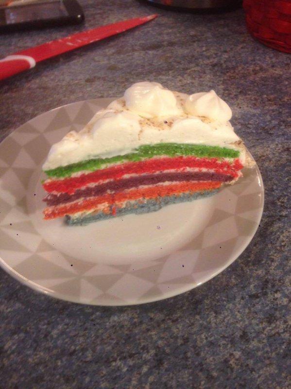 recette rainbow cake noisette plus avec le reste un dessert pous pous avec fraise une tuerie se gateau