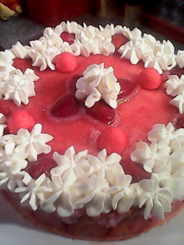 bavarois fraises delicieux