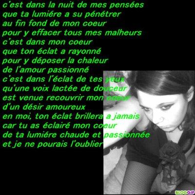 moi + poeme