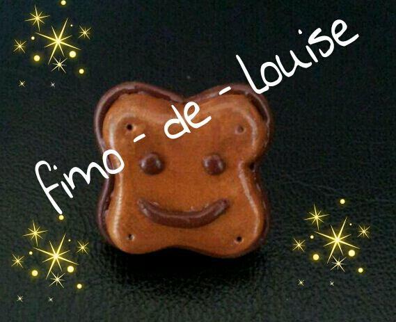 bagues BN  chocolat pailleté or