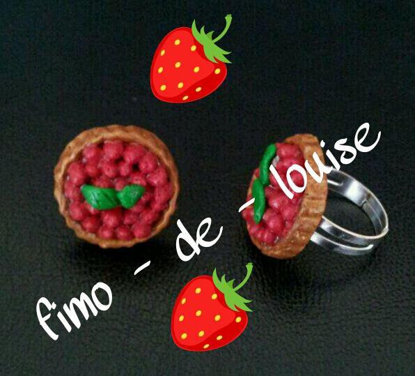 super bague tarte fraises