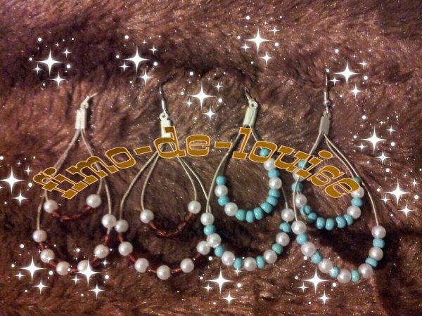 créole ovale .perle