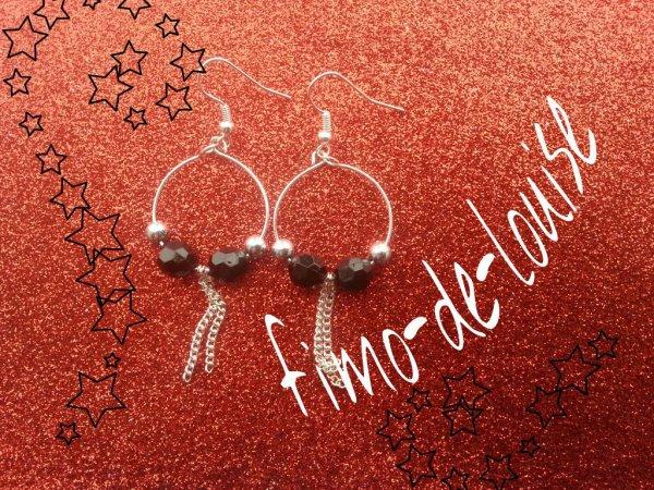 Petite creol perles et chaine